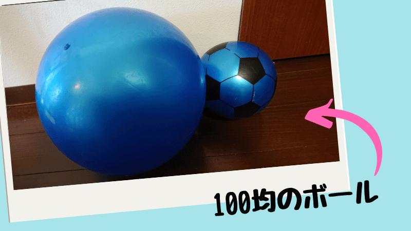 ピクニックで使える100均の遊び道具(ボール)